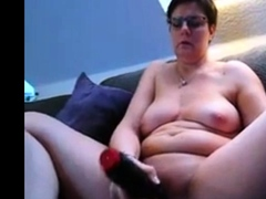 my monster orgasm with a huge toy.