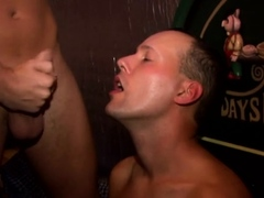 Hung boyz getting all up in every other's constricted asses