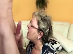 ugly bbw grandma extreme rough banged by stepson