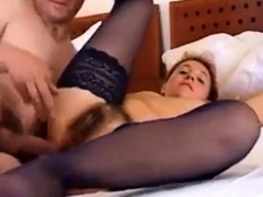 Gina's Hairy Snatch