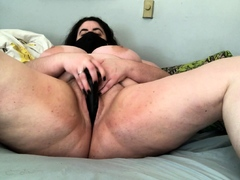 hot-brunette-big-boobs-toying-pink-pussy