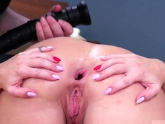 Domination compilation and pregnant Ass-Slave Yoga