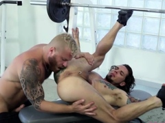 Intense anal sex with hunks Archer Croft and Riley Mitchell