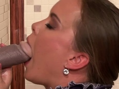 Sensational maiden Mia is playing with herself