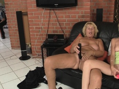 mom-teaching-blonde-girl-toying-and-old-cock-riding