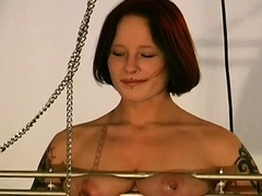Chick who gets a jizz blast all over her face