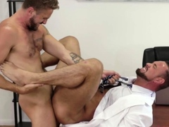 hunks-wesley-woods-and-michael-roman-blowing-cocks