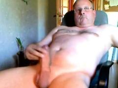 Fat cock dad cumming