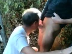 Hiking Trail Blowjob
