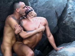 Rawhole Bald Latin Patrick Garcia Raw Fucked By Kadu Silva