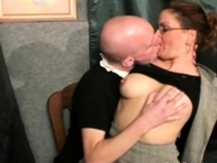 Bald Dutch Dude Gets Some Sweet Pussy