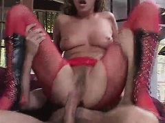 In this video, we have nasty pornstar Mandy Bright doing