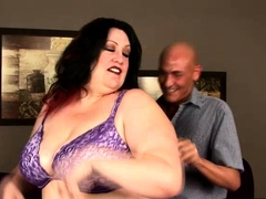 We have the bbw honey Matalla on this scene as she teases