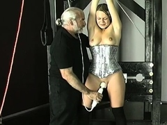Prodigious cutie is gently use sex-toy in her hole