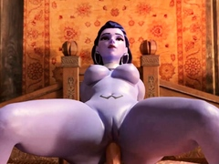 Game Characters Big Round Titty Gets Huge Fat Cock