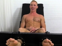 Gay sex slave auction xxx Cristian Tickled In The Tickle