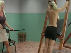 Hot Body Fine Tits Sexy Blond Babe Gets Part1