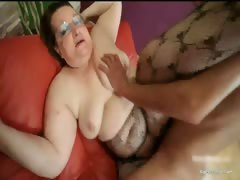 Nasty Chubby Brunette Hoe Sucks Stiff Part6